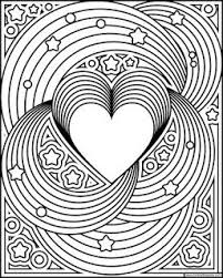 Rainbow Love Coloring Page Available In Jpg And Transparent Png Rainbows Adultcoloring Free Printable PagesAdult