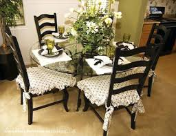 Diningroom Chair Pads Dining Room Seat Cushions Incredible Astonishing Table Set