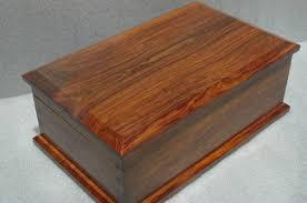 Cocobolo Wood Memory Box