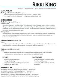 Finance Internship Resume Objective Intern Example Alternative Inspire You