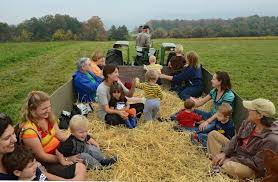 Pumpkin Farm Clarence Ny by 8 Best Haunted And Not So Scary Hayrides Across Upstate Ny