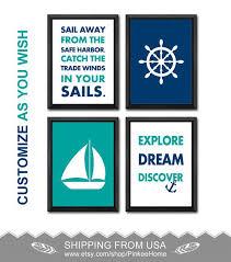 161 best nautical nursery nautical kids art images on pinterest