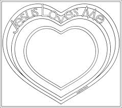 Jesus Valentine Coloring Pages Heart Love Me Page Year Old Loves Medium Size