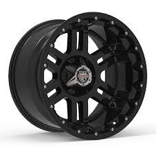 100 20 Inch Truck Rims Center Line Lifted Series LT1 830B Wheels Gloss Black