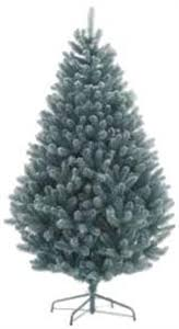 Blue Spruce Frosted Artificial Christmas Tree