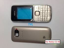 New Cellphone Housing For Nokia C2 C2 01 Mobile Phone cover faceplate keypad spare parts 10pcs a lots free shipping in Mobile Phone Housings from Cellphones