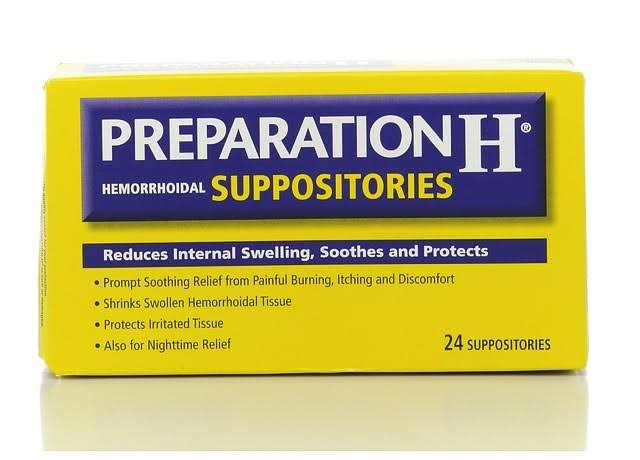 Preparation H Hemorrhoidal Suppositories - 24 Suppositories