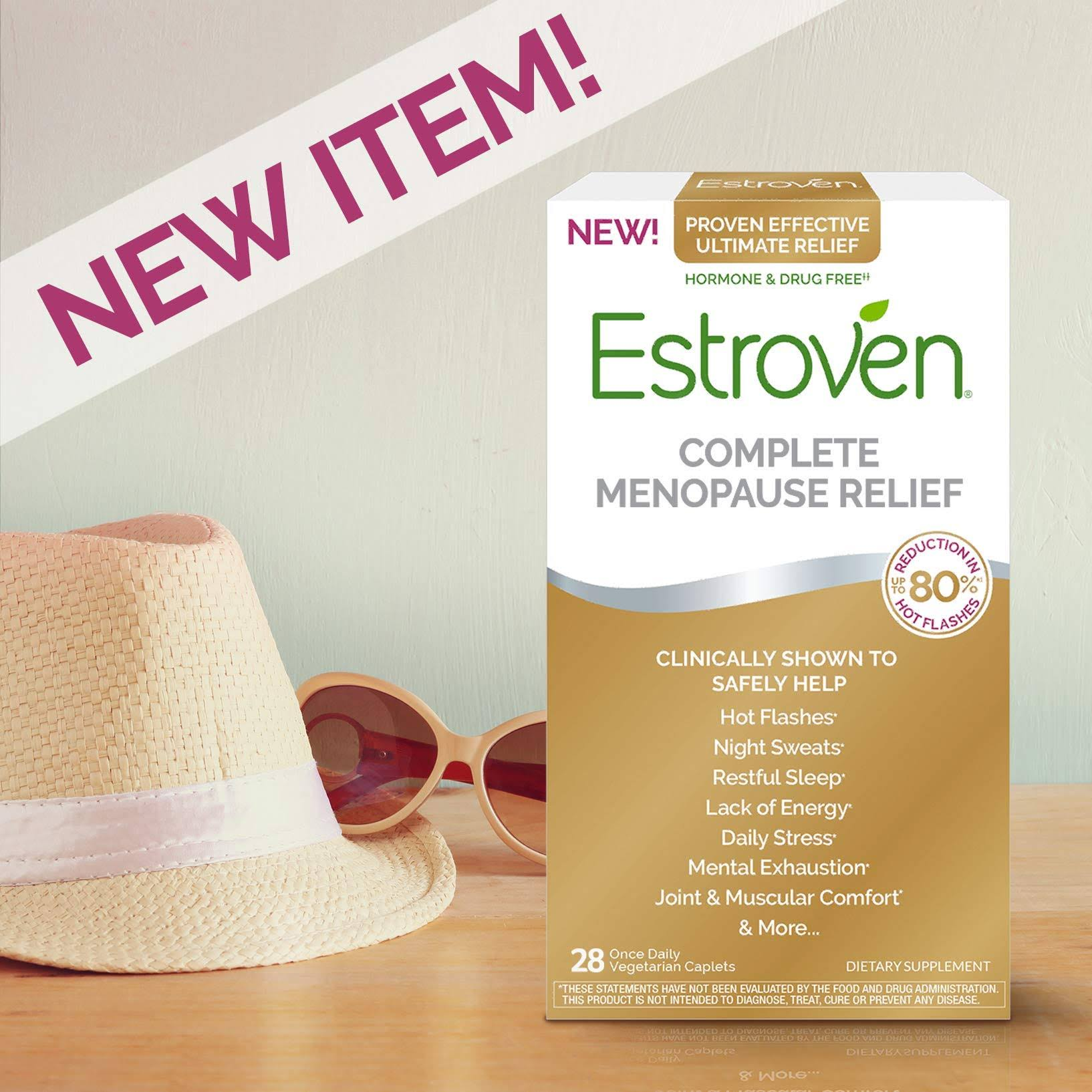 Estroven Complete Menopause Relief Dietary Supplement - 28ct