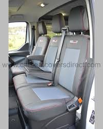 Ford Transit Custom Seat Covers - Charcoal Car Seat Covers Direct ...