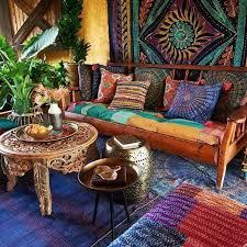 american hippie bohemian boho lifestyle wohnzimmer