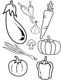 Line Drawings Online Fruits And Veggies Coloring Pages About Vegetable Sheets