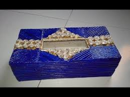 How To Make Newspaper Tissue Box