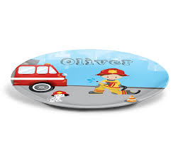 Firefighter Personalized Plate – Firefighter Boy Girl Fire Truck, 10 ... Fire Truck Engine Kids Videos Station Compilation Novelty Lunch Box Learn About Trucks For Children Educational Video By Dump Mixer Road Roller Colors With Kids Large Ride On Toy Ladder W Lights Siren And Rc Cannon Brigade Vehicle Youtube Blippi Songs For Nursery Rhymes Fire Truck Videos Kids Trucks Ride Unboxing Review Youtube And Dodge Ram 3500 In