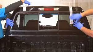 How To Install A Sliding Rear Window In A Pickup Truck - YouTube