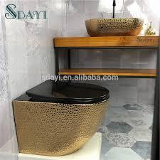 keramik randlose gold farbe wand hing wc bad wc gold design buy gold wand hing wc wc gold randlose farbe wand hing toileet product on alibaba