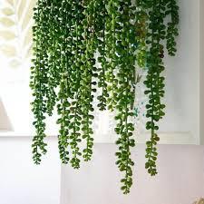 4 stk lange künstliche pflanzen blume girlande kunstpflanzen kunstblume hängende deko