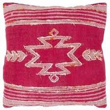 Bani Hot Pink Tribal Throw Pillow