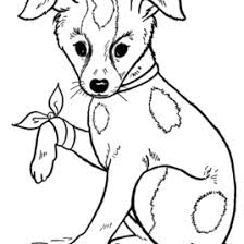 Free Dog Coloring Page 007