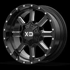 100 20 Inch Truck Rims Black Wheels Dodge RAM 1500 XD Series Mammoth
