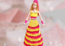 How To Make Crepe Dress Easy Paper Craft