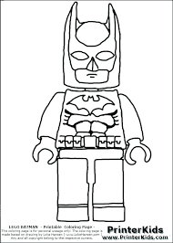 Lego Man Coloring Page As Well Good