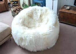 Giant Fluffy Bean Bag Furry Chair Fuzzy Cheap