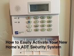 How to Easily Activate Your New Home s ADT Security System Zions