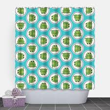 Foil Fringe Curtain Dollar Tree by Adorable Green Frog Turquoise Pattern Shower Curtain 71