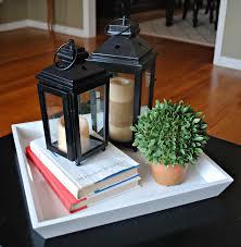 Spring Coffee Table Vignette DIY CoffeeTable HomeDecor Decor