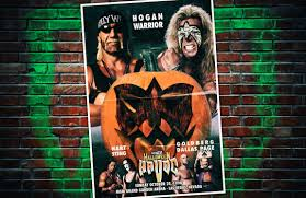 Wcw Halloween Havoc by Wwe Custom Posters U2013 Kody Wynne