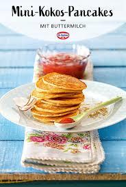 mini kokos pancakes für kinder