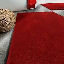 details zu badematte sky soft rot badteppich badematten duschvorleger rutschfest