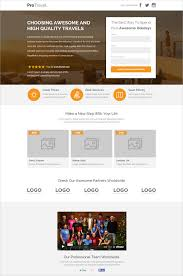 Travel Agency Unbounce Website Template 18