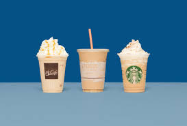 Starbucks Dunkin Donuts And McDonalds Coffee Drinks