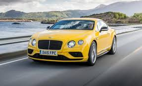 2016 Bentley Continental GT Speed GT V8 S coupe