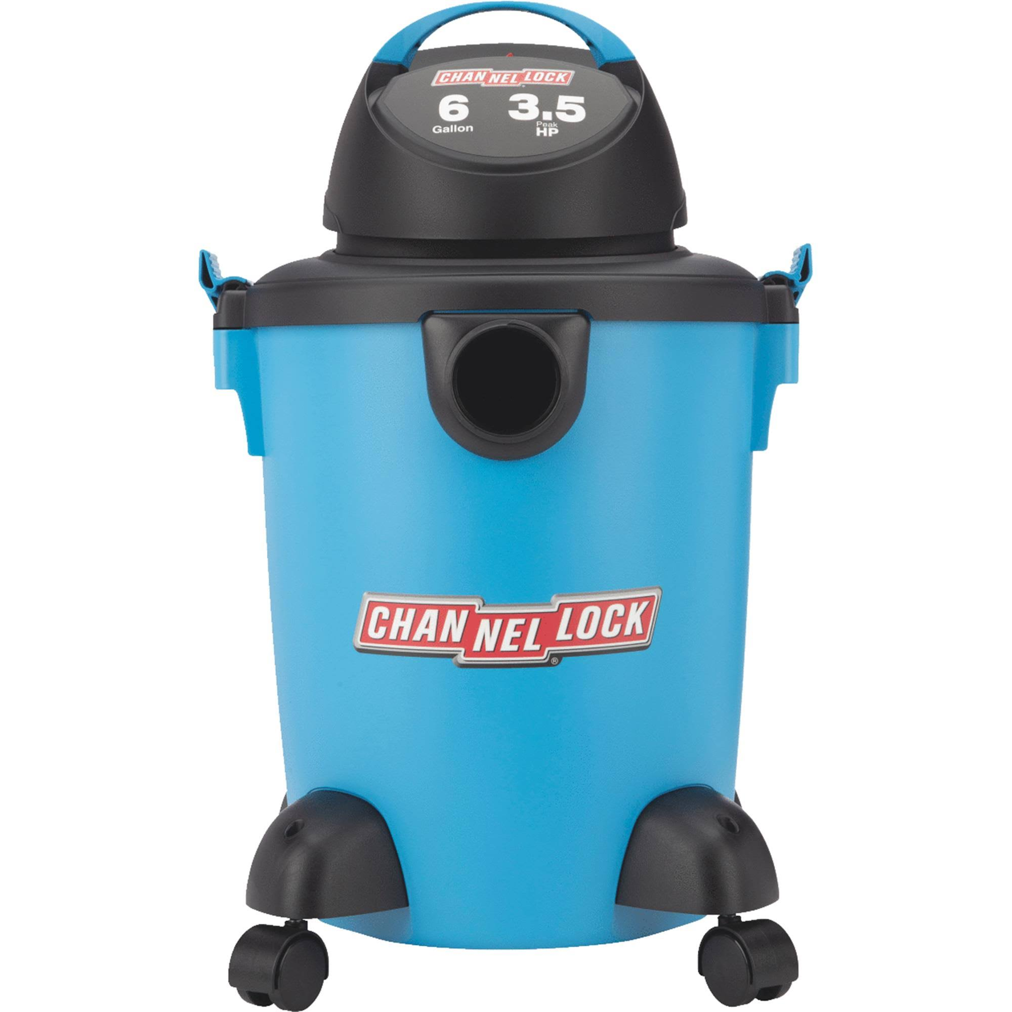 Channellock 6 gal. 3.5 HP Wet/Dry Vacuum 5902600
