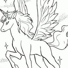 New Pegasus Coloring Pages