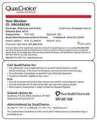 Catamaran Insurance Pharmacy Help Desk by Qualchoice Health Insurance General Information
