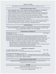 Sample Resume For Nursing Graduate Best Registered Nurse