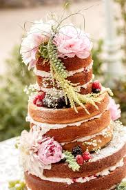 Download Naked Wedding Cake Stock Photo Image Of Frosting Covered