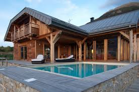 100 Chalet Moderne Photo De Chalets Maisons Ossature Bois Et Architecture Dintrieure