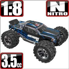 100 Monster Truck Engine Redcat Racing Earthquake 35 18 Scale Nitro 4WD RTR