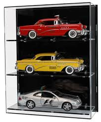 Front View Of Acrylic Wall Display Case For 118 Scale Cars