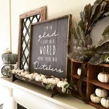Wonderful Inspiration Living Room Signs Perfect Ideas My Fall Decor With Budget Blinds Curtains And AR