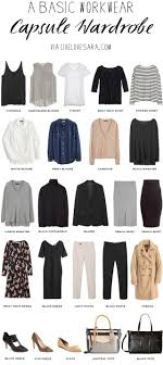 Best 25 Capsule Wardrobe Work Ideas On Pinterest