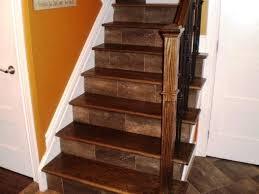 Vinyl Plank Stair Nosing Treads Ideas Flooring