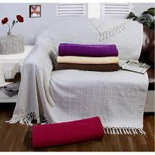 3 Seat Sofa Cover by Large 100 Cotton Sofa Throw Batten Woven 1 2 3 Seater Bed Arm