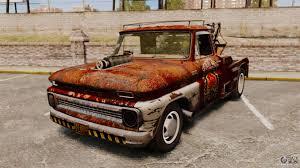 100 Rat Rod Tow Truck Chevrolet Truck Rusty Rod For GTA 4