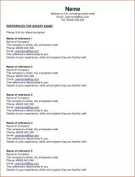100 How To List References In A Resume Reference Letter When Nd