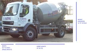 100 Concrete Truck Dimensions OUR TRUCKS D Harding